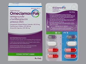 Omeclamox-Pak : Pabrik farmasinyakreatif