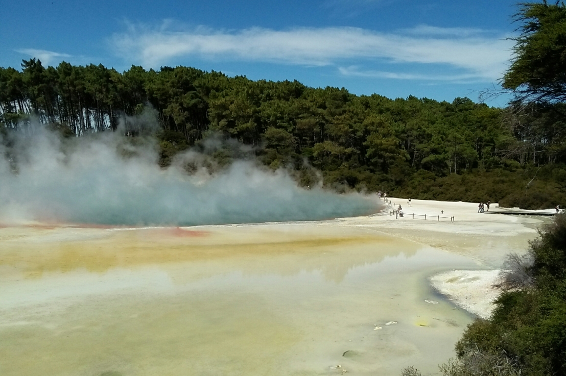Three days in Rotorua