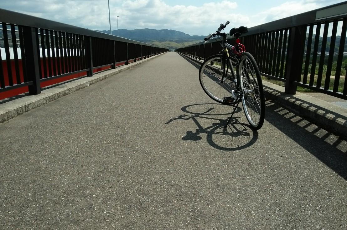 Bersepeda di Kizugawa