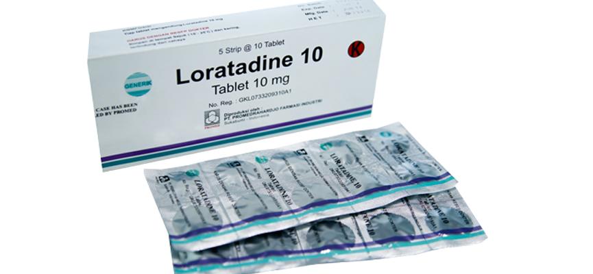 Farmakologi tripolidine danloratadine
